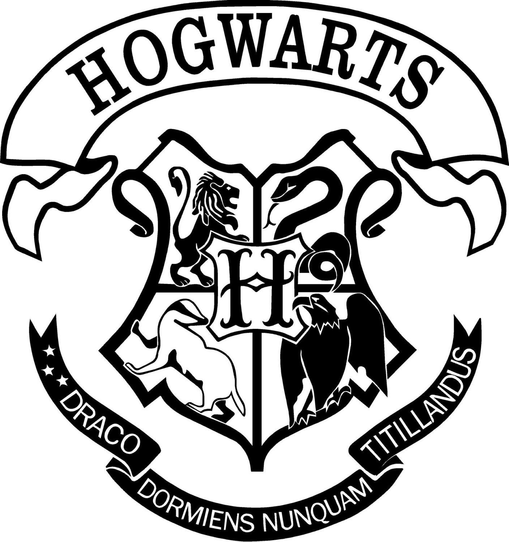 Hogwarts sticker decal cut out by artogtext on etsy - Hogwarts decal ...