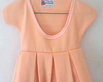 Peach Clothespin Bag Dress