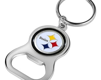 Pittsburgh Steelers Keychain Bottle Opener