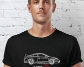 Honda Integra Type R Hand Drawn Car Design T shirt HINTR01