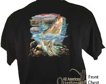 Trout Fisherman Fishing Sportsman Sport T-Shirt