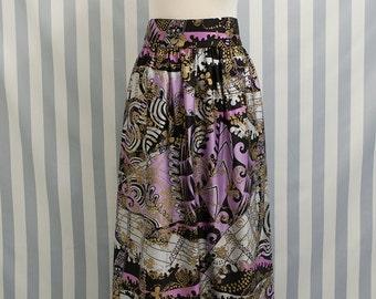 Vintage Maxi Skirt // 70s