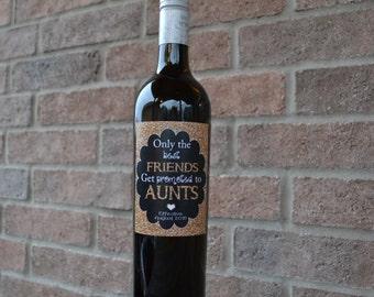Pregnancy Announcement, Baby Announcement Wine Bottle Label, Custom Wine Label Pregnancy