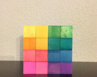 Rainbow Building blocks - Basic Builders Set