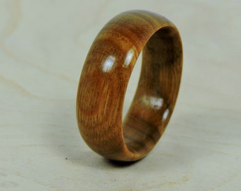 Wood Ring, Wedding Ring, Argentine Lignum Vitae Ring, Custom Made Ring, Wedding Ring, Mens Ring, Womens Ring, Eco Friendly Ring