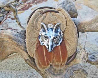 Fox Spirit Animal Amulet Power Animal Totem Medicine Bag Fox Wisdom Talisman