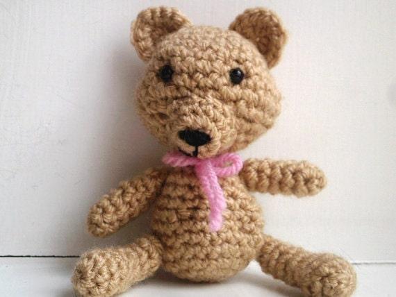 Easy Amigurumi Pdf : Sweetie bear pattern amigurumi teddy bear crochet pdf instant