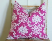 Blue Decorative Pillows, Pink Cottage Pillows, Cottage Chic Pillow Covers, Decorative Throw Pillows, Shabby Chic Pillows, Accent Pillows