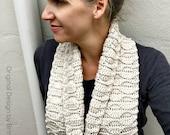 Long Scarf Crochet Pattern - Autumn Leaves Crochet Scarf Pattern No.516 Instant Digital Download PDF File