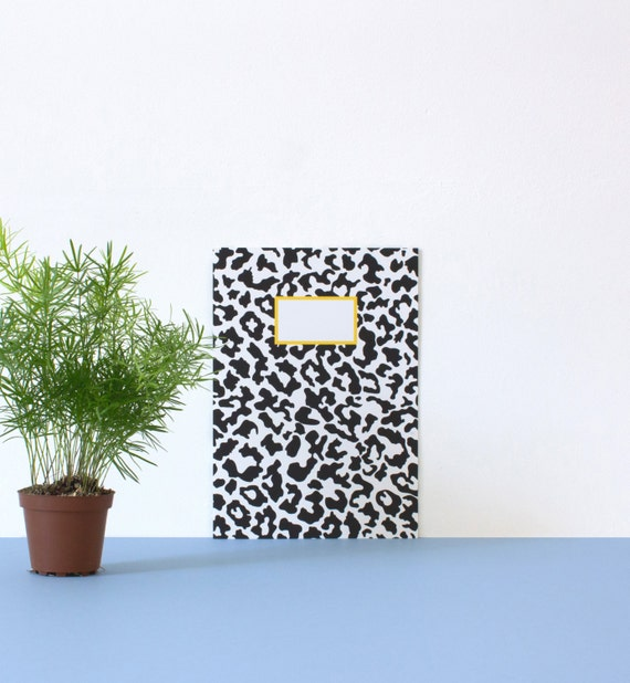 Leo notebook / journal / diary - A5 - 32 White pages