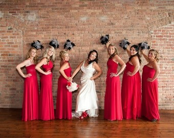 Belle Feather Bouquet  - Alternative to Flowers - Bridesmaid Bouquet - Brides Bouquet - Feather Bouquet - Glitz & Glam Collection