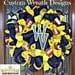 Deco Mesh West Virginia Fan Wreath