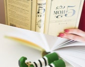 Leprechaun bookmark. Irish present. St Patrick's day gift idea.