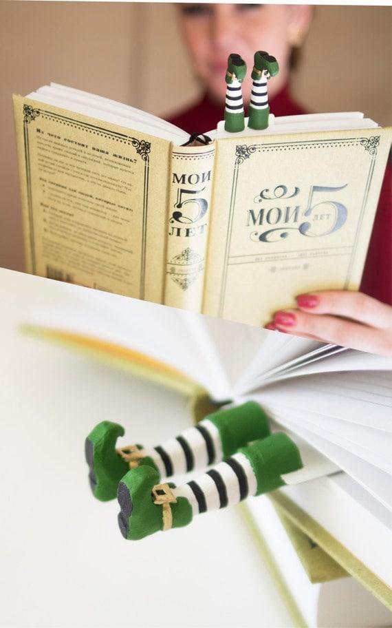 Leprechaun bookmark. Irish present. St Patrick's day gift idea.
