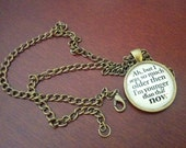 Bob Dylan lyric pendant I was so much older then... My Back Pages
