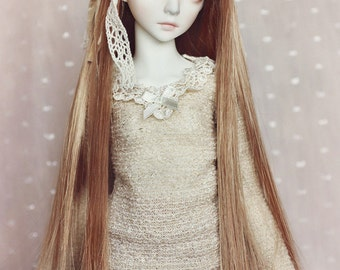 Golden Lace knit sweater for Minisup/Narae girl