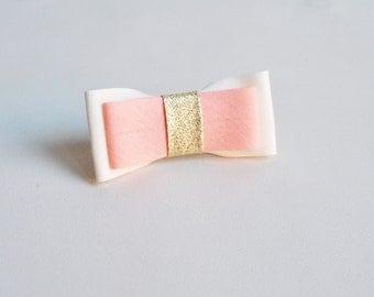 Hair clip/ girls/ bow fabric/ special events/ handmade/ hair accessories