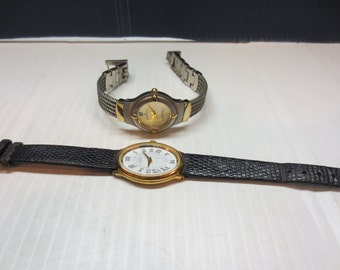 Ann Kline Womans Wrist Watch with a Diamond and Additional Bonus Ann Kline Watch for free