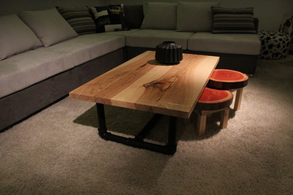 racine de ch ne massif canap table table basse custom. Black Bedroom Furniture Sets. Home Design Ideas