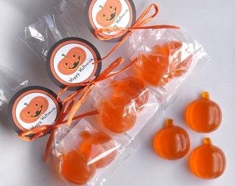 Halloween Party Favors - Pumpkin Party Favors, Pumpkin Favors, Halloween Soap, Halloween Favors, Pumpkin Soap, Class Favors - Set of 10