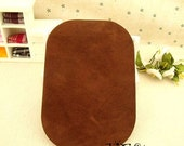 Set of 2 , Elbow patch ,  Rectangle Large iron on patch , 5 Colors for choose CB185-16