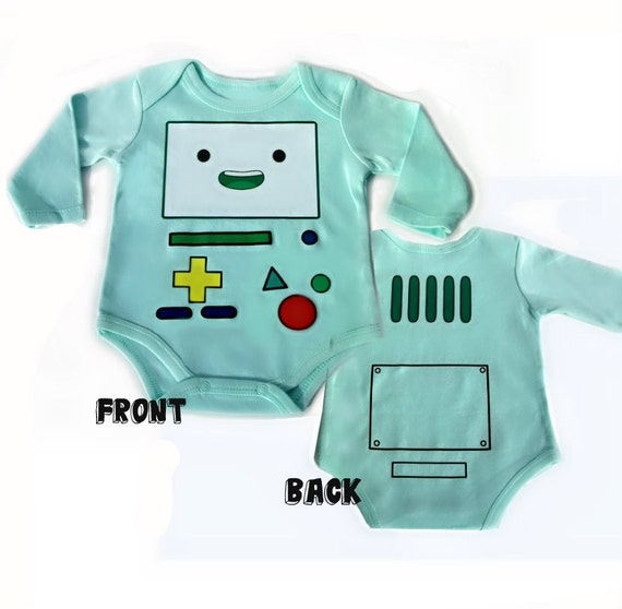 Bmo Baby Bodysuit Adventure Time Clothes By