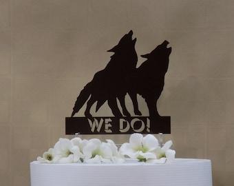 wolf cake topper – Etsy