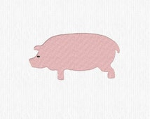 Embroidery File Design Pattern Pig