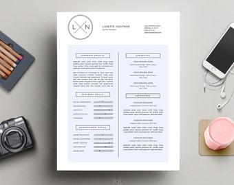 Resume U2022 S A L E U2014 30% U2022 Resume Template + Cover Letter For Word U2022 Modern