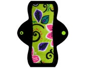 "Reusable Pantyliner (8"" Light - Jungle Minky)"