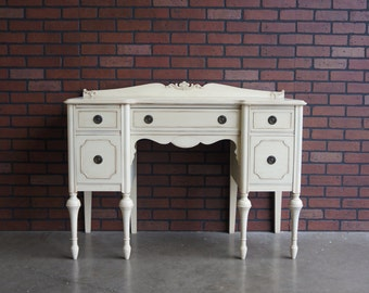 Desk / Vintage Desk / Antique Desk / Writing Desk / Customized Desk / 1920-1930's era  ~ Paint To Order ~