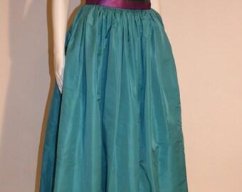 Vintage Oscar de la Renta Maxi Skirt, Vintage Oscar de la Renta, Vintage Maxi