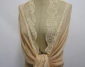 Set of 6 Bridal Shawl, wedding scarf, Prom Shawl, Lace Scarf, summer scarves ,Bridal Stole Pashmina Bride Bridesmaid Stole, boho,