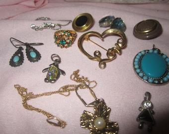 Jewelry, Vintage Lot