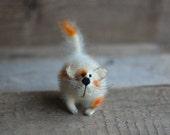 Gatto gatto carino peluche a mano animale farcito amante regalo kawaii gatti gattino arredamento casa regalo kitty bambola in miniatura figurina regalo di compleanno per lei