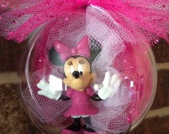 Minnie Mouse Globe Ornament