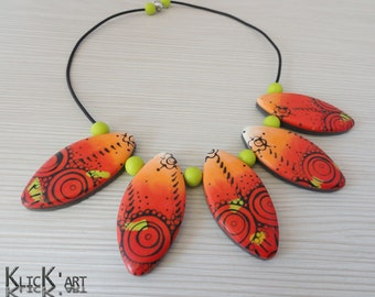 "Polymer clay ornament ""Cordoba"""