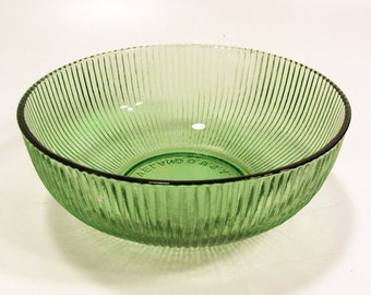 E.O. Brody Emerald Glass Bowl