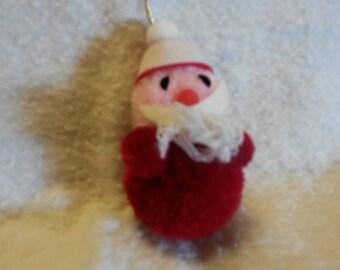 SALE!!1970's Vintage Pom Pom Santa