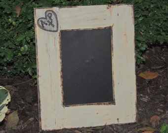 Personalized Wood Frame Engraved Gift, for Wedding, Anniversaries Etc