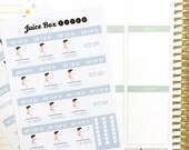 30 Day Squat Challenge Stickers for Various Planners, Journals, Calendars