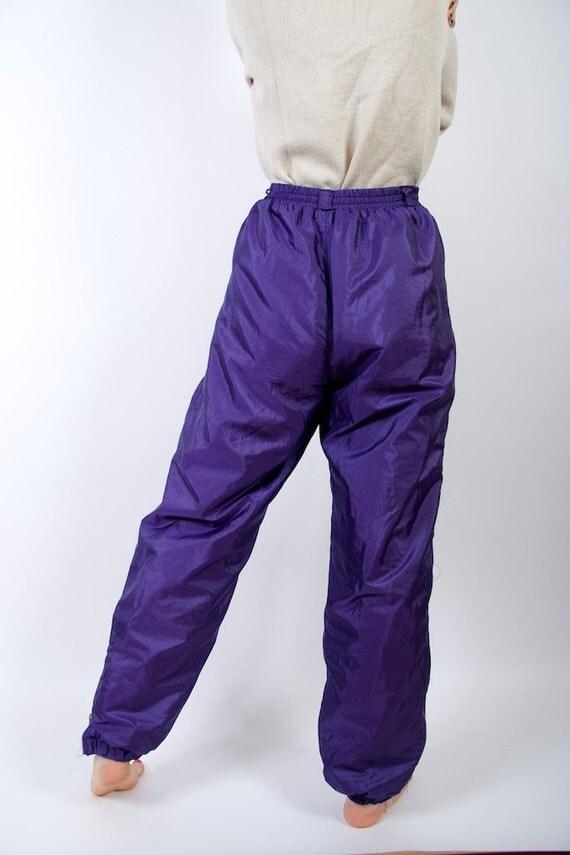 90er jahre skianzug hose lila winter hipster hose warm - Hipster anzug ...