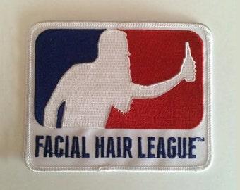 Big Ass Facial Hair League Patch