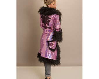 Rockstar Coat by Lily Guilder Design- one-of-a-kind and made to order