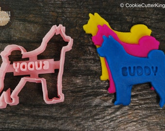 Custom Siberian Husky Cookie Cutter Personalized for your Pet