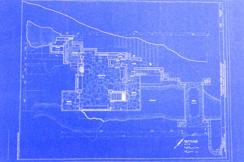 Frank Lloyd Wright Falling Water First Floor by ...