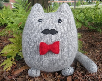 Irving the Dashing GentleCat - wool plush toy