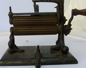 antique pleating machine