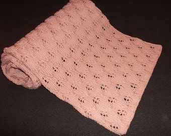 Knitted women scarf