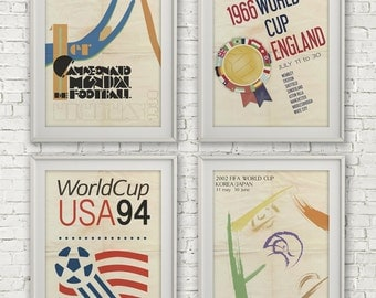 Fifa World Cup Posters! -digital file, INSTANT DOWNLOAD! wall decor